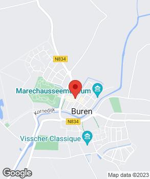 Locatie A. van der Sluijs op kaart