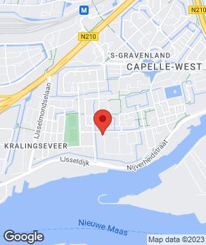 Locatie Auto Roggeveen B.V. op kaart