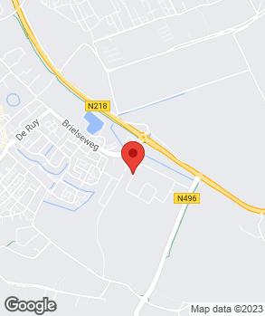 Locatie Van Trigt Oostvoorne B.V. op kaart