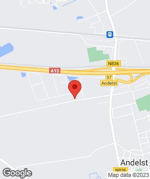 Locatie Garagebedrijf D. Methorst op kaart