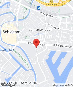 Locatie Kriek & van der Kruit's Automob.bedr. B.V. op kaart