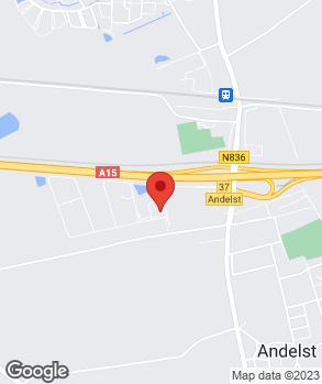Locatie Broekhuizen Banden Techniek op kaart