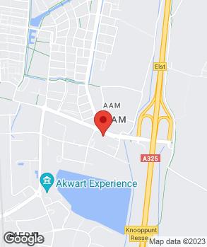 Locatie Broekhuis Elst B.V. op kaart