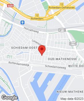 Locatie Eco-Tec Carcenter op kaart