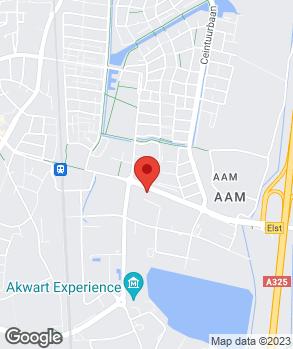 Locatie Garagebedrijf J.P.M. Heezen op kaart