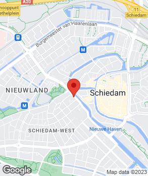 Locatie Keuringsstation Nieuwe Haven op kaart