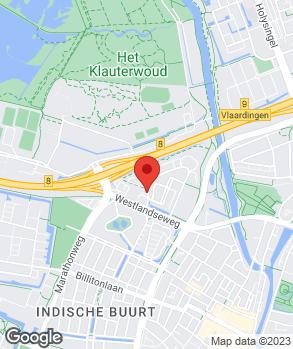 Locatie Autobedrijf P. Bot B.V. op kaart