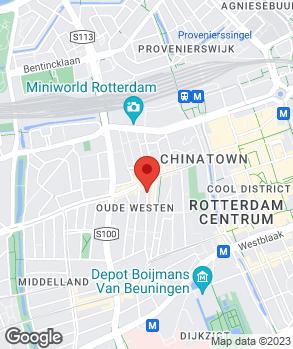 Locatie Garage M.J. de Visser op kaart