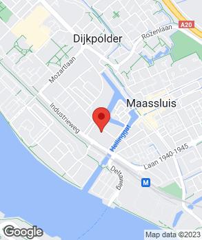 Locatie Automobielbedrijf A. Korpershoek op kaart