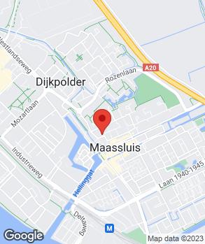 Locatie Autobedrijf W. van der Hoeven op kaart