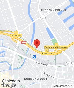 Locatie Alacar Rotterdam Spaanse Polder op kaart