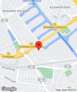 Locatie Doe het zelf Garage Thakoer op kaart