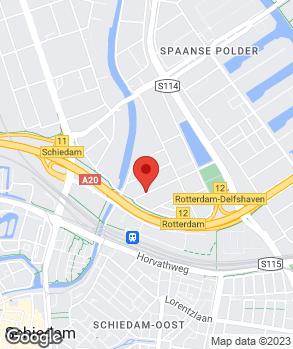 Locatie Handelsonderneming Schiedam op kaart