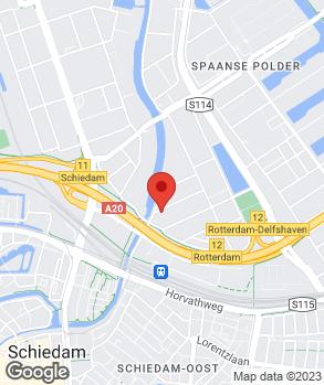 Locatie Mercecars op kaart