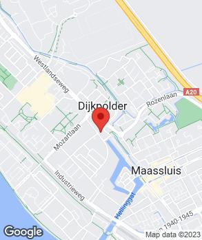 Locatie Autobetaalbaar Maassluis op kaart