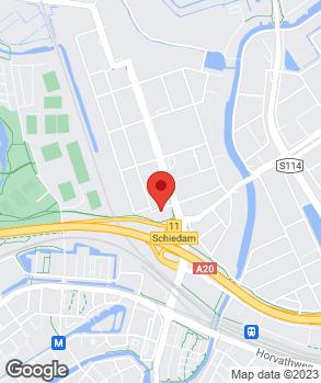 Locatie Eigenraam Schiedam B.V. op kaart