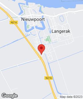 Locatie Rick Roest Auto's B.V. op kaart