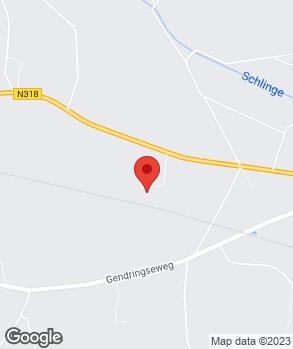 Locatie D.J. Lensink op kaart