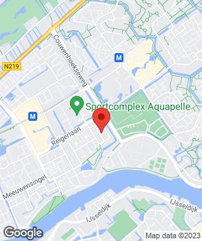 Locatie Autohandel Van den Bergh B.V. op kaart