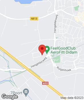 Locatie René Bloem Schade-auto's B.V. op kaart