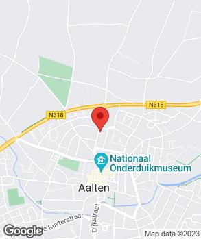 Locatie Autobedrijf Jawi op kaart