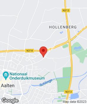 Locatie Autobedrijf Wikkerink Aalten-Dinxperlo B.V. op kaart