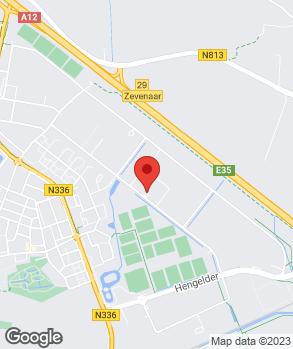 Locatie Autobedrijf Bloemberg B.V. op kaart