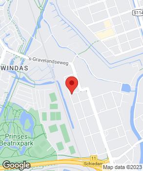 Locatie Garage Zeeuw bv op kaart