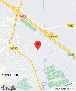 Locatie Jan van Duren Auto's op kaart