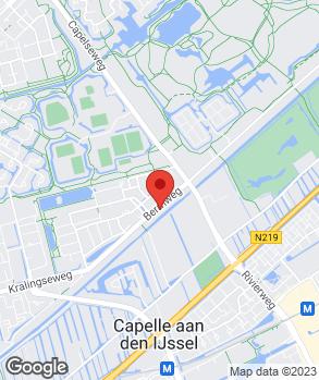 Locatie Autobedrijf Van den Bergh op kaart