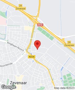 Locatie Autobedrijf WPI B.V. Zevenaar op kaart