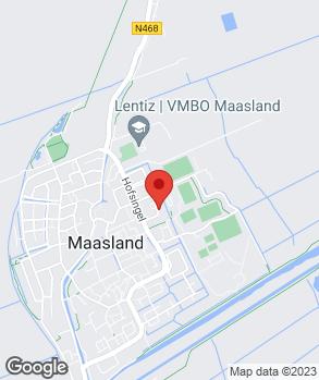 Locatie Autobedrijf Van der Voort B.V. op kaart