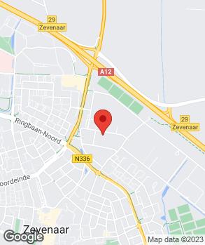 Locatie Citroën Verbeek Zevenaar op kaart