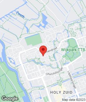 Locatie Automobielbedrijf H.B.S. op kaart