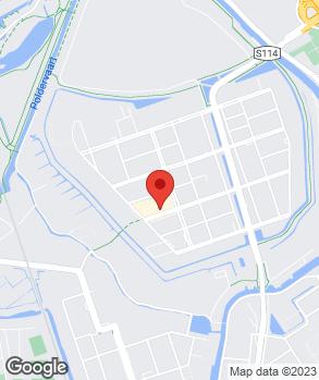 Locatie Automobielbedrijf P. van der Velden Noord op kaart