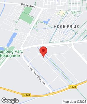 Locatie Jägers Banden en Wielen B.V. op kaart