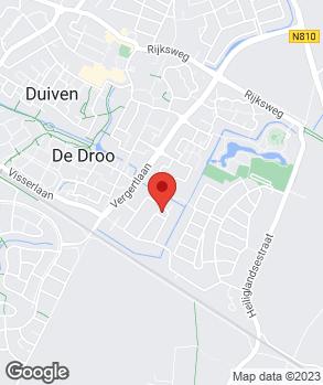 Locatie J.L. Vos Duiven B.V. op kaart