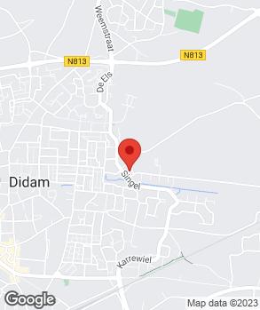 Locatie VerheijenCampers.NL op kaart