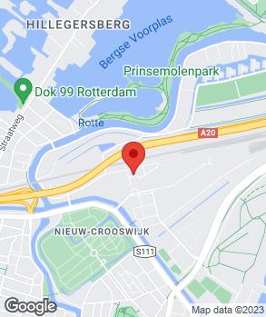 Locatie Automobielbedrijf Emcoos op kaart