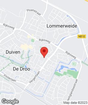 Locatie Autobedrijf Nijland Duiven B.V. op kaart