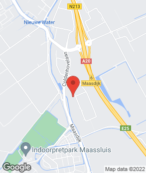 Locatie Mercedes-Benz Maasdijk op kaart