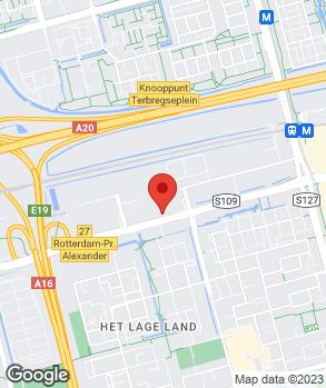 Locatie Autohaag Zeeuw Rotterdam op kaart