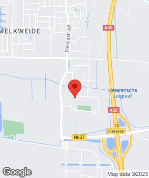 Locatie Autobedrijf Wim van Dijk op kaart