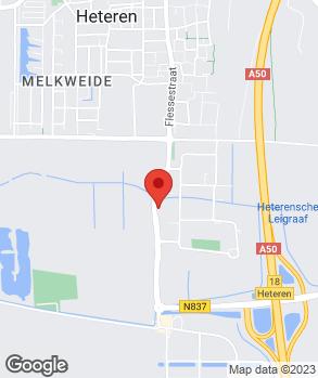 Locatie Autobedrijf J.G. de Kruijf op kaart