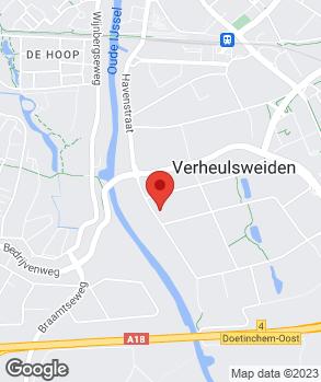 Locatie J.H. Janssen op kaart
