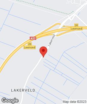 Locatie Autobedrijf J.F. de Bruijn op kaart
