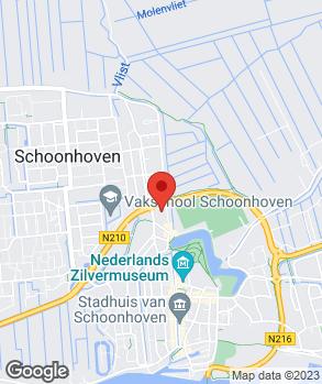 Locatie Ford Schakel Schoonhoven op kaart