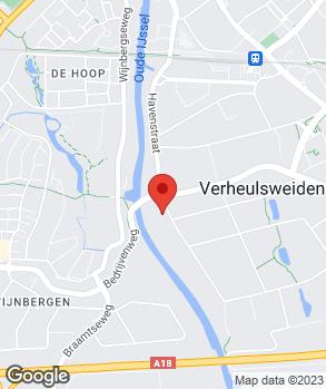 Locatie Fokko Meijer B.V. op kaart