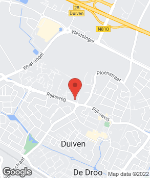 Locatie Autobedrijf Frans Vos op kaart