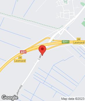 Locatie Koedam Auto's op kaart